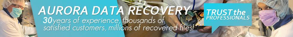 Aurora Data Recovery banner