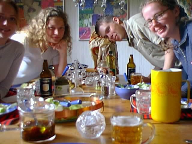 Avslutningsfest hos Aurora - End of Practical training party